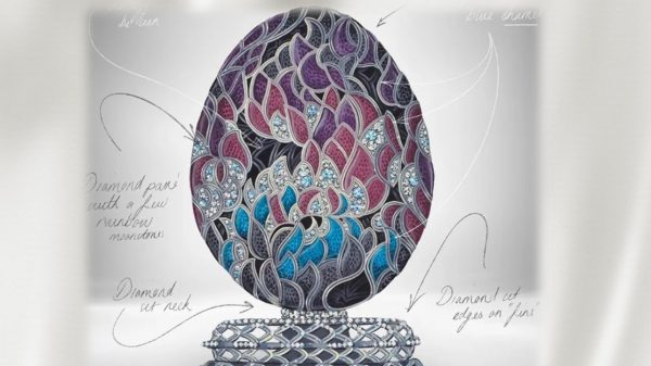 """Фаберже"" представиха уникално драконово яйце"