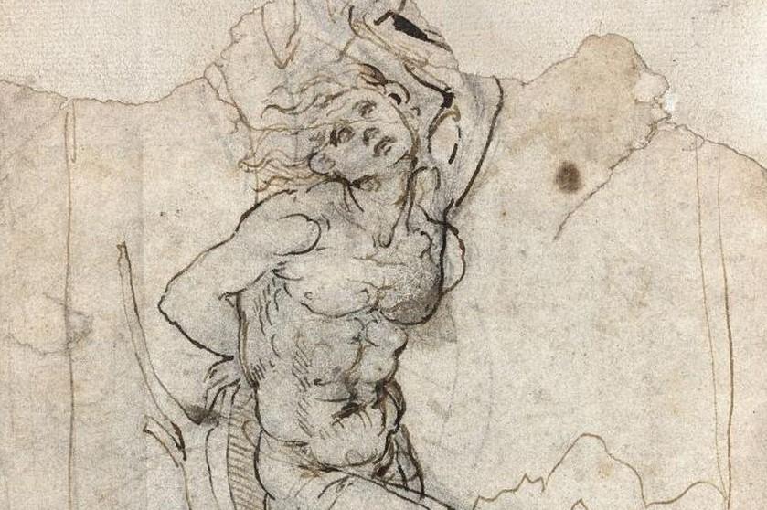 A court battle in France over a drawing by Leonardo da Vinci
